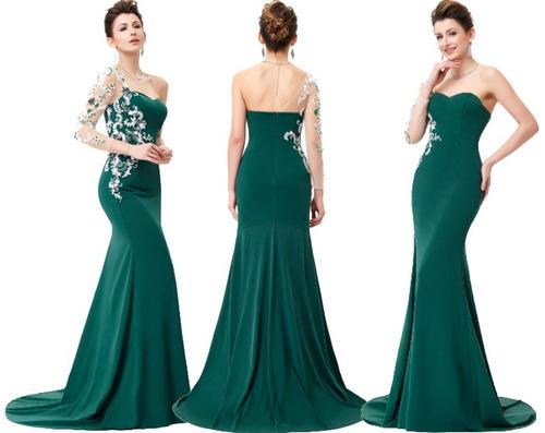 vestido de fiesta - gala - noche 0101177  elbauldecorina
