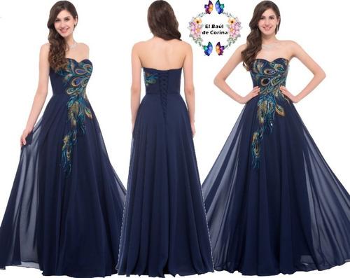 vestido de fiesta - gala - noche 0101178  elbauldecorina