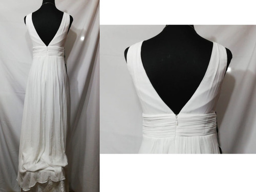 vestido de fiesta - gala - novia  0101134  elbauldecorina