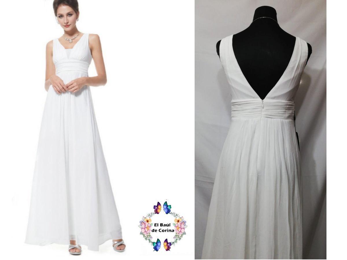 901bd30ca vestido de fiesta - gala - novia 0101134 elbauldecorina. Cargando zoom.