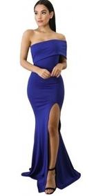 Vestidos Color Azul Rey Largos Vestidos De Mujer