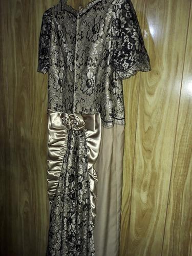 vestido de fiesta ideal madrina.