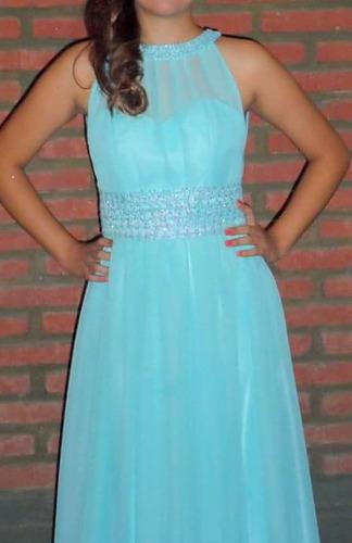 vestido de fiesta impecable  talle 2  l