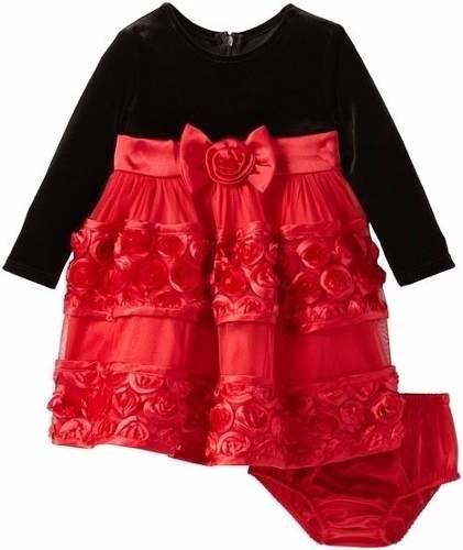 vestido de fiesta importado bonnie jean talla 18m oferta