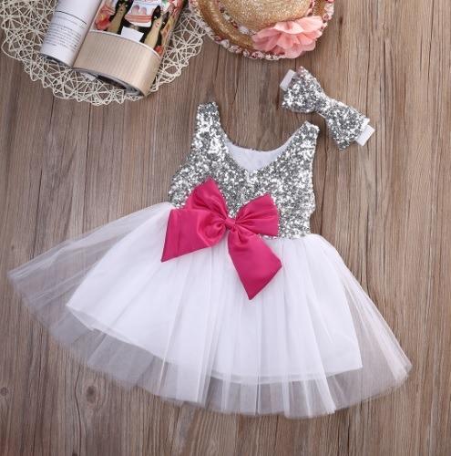84f1494bd Vestido De Fiesta Importado Para Niña Talla 2 A 3 Años - $ 350.00 en ...