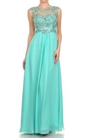 cfb3be541 Vestido Verde Esmeralda - Vestidos de Mujer en Mercado Libre México