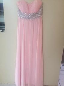 b88bf26be Vestido Rosa Palo Largo - Largo, Usado en Mercado Libre México