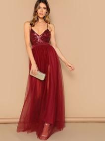 última moda mejor baratas gran selección de Wish Vestidos De Fiesta Largo - Ropa y Accesorios Rojo en ...