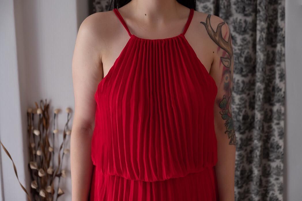 05afc0ede vestido de fiesta largo maria vazquez talle 40 color rojo. Cargando zoom.