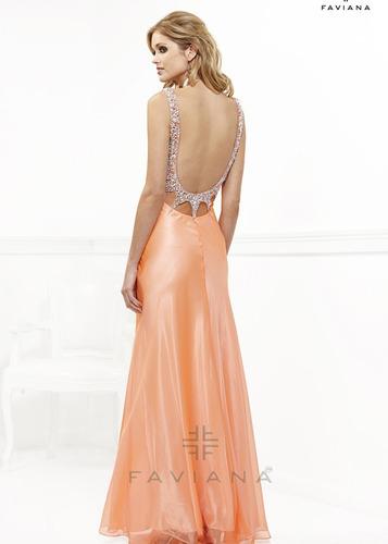 vestido de fiesta largo modelo exclusivo! envio gratis!