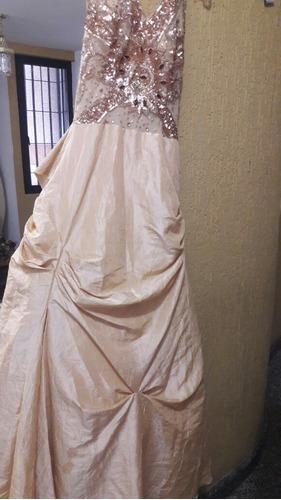 vestido de fiesta largo o se alquila