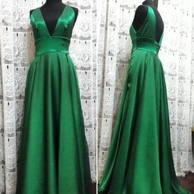Vestido De Fiesta Largo Y Elegante De Doble Falda Plato