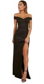 Vestidos Vestido Corte Chanel Vestidos De Mujer Largo