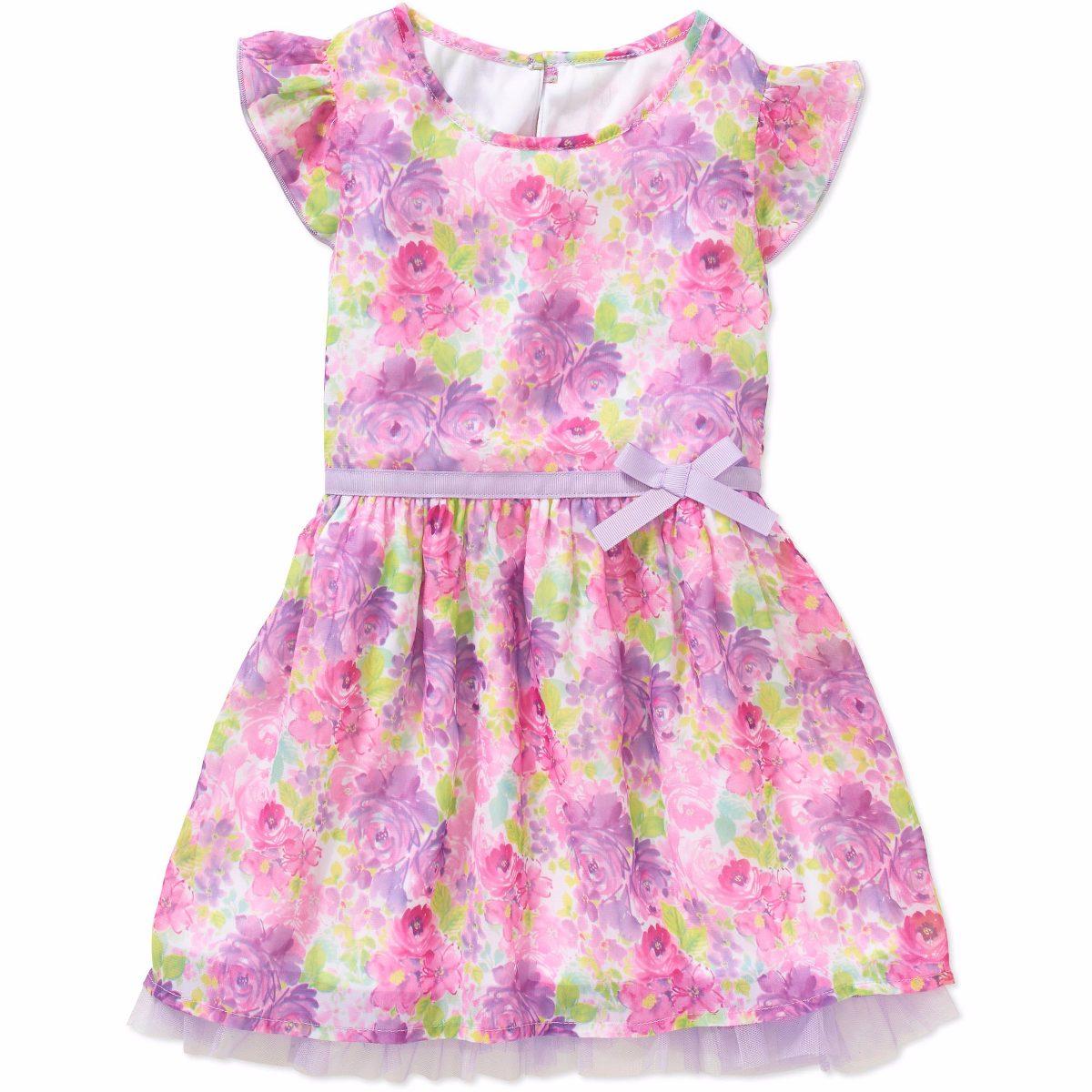 Vestido De Fiesta Nena Importado Increibles 2 , 3 Y 4 Años - $ 550 ...