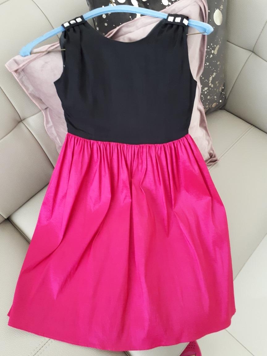 Moderno Vestido De Fiesta Niña Festooning - Colección de Vestidos de ...