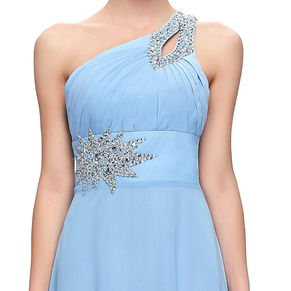 4e37ea817 vestido de fiesta noche boda dama grace karin azul claro. Cargando zoom.