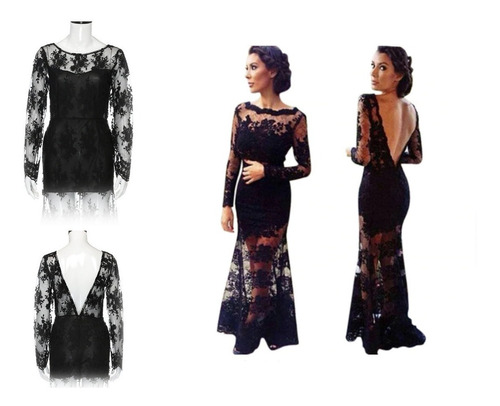 vestido de fiesta - noche - gala  (010109) elbauldecorina