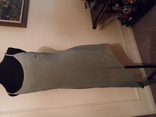 vestido de fiesta nuevo desnivel  tela importada