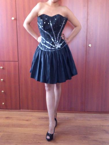 vestido de fiesta nuevo talla smalll nuevo de remateee...