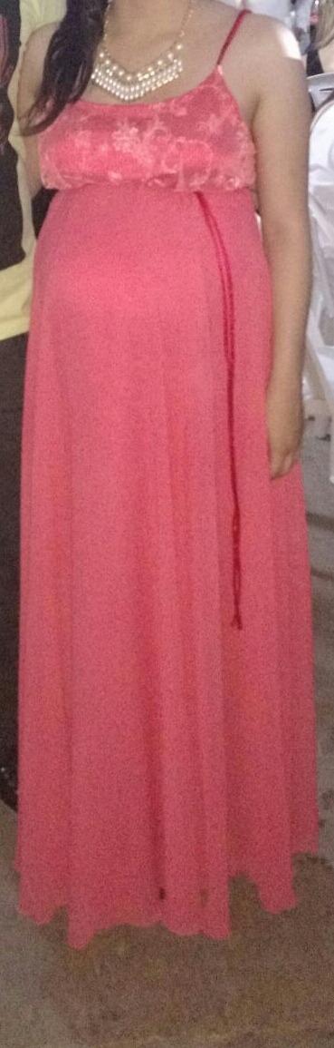 Vestido De Fiesta Para Embarazada - $ 1.000,00 en Mercado Libre