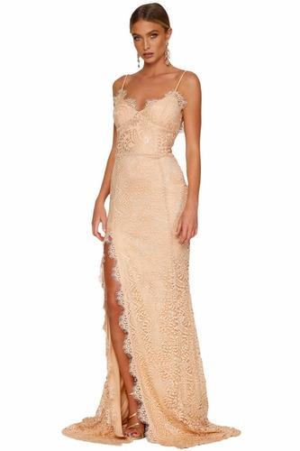 vestido de fiesta para graduacion, gala,matrimonio flecos