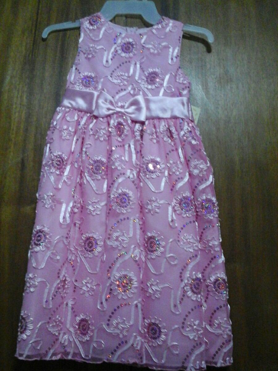 Vestido De Fiesta Para Niña - Bs. 19.500.000,00 en Mercado Libre