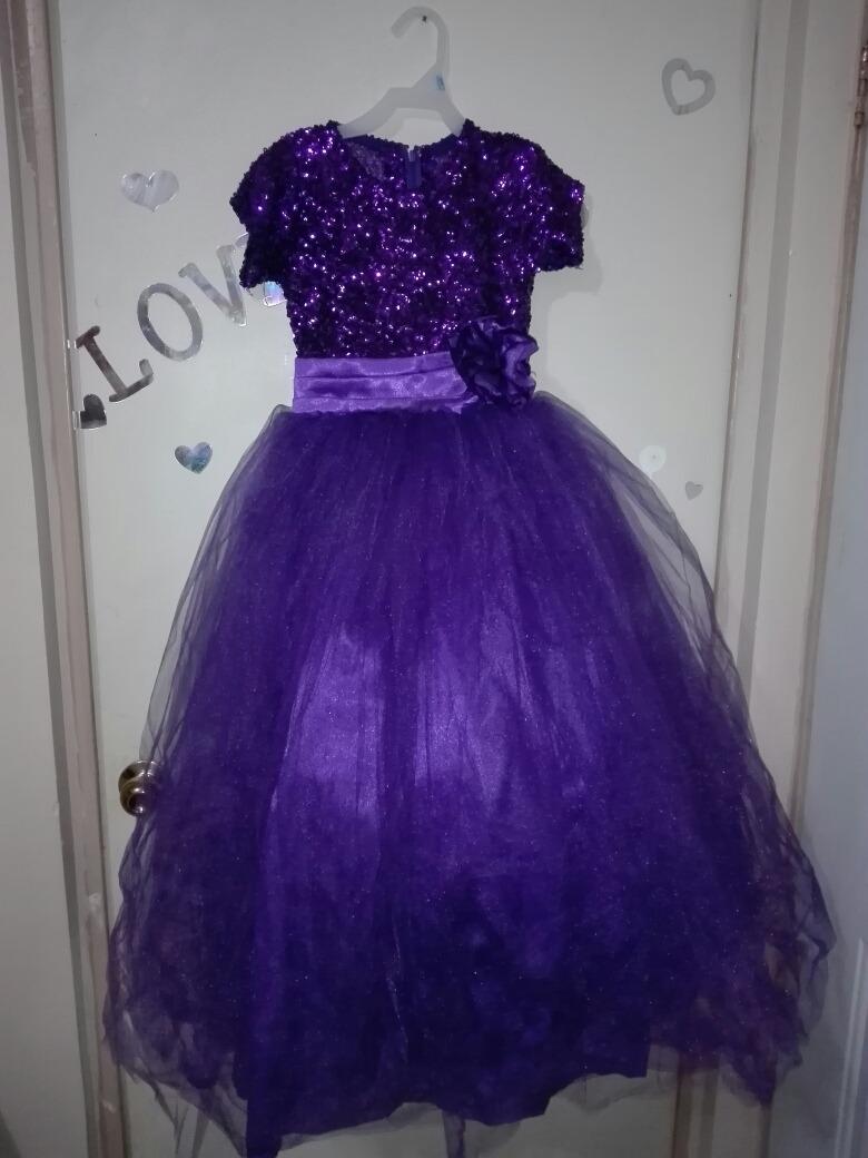 Vestido De Fiesta Para Niña - $ 549.00 en Mercado Libre