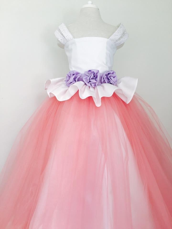 Vestido De Fiesta Para Niña, Color De Tu Elección. - $ 1,500.00 en ...
