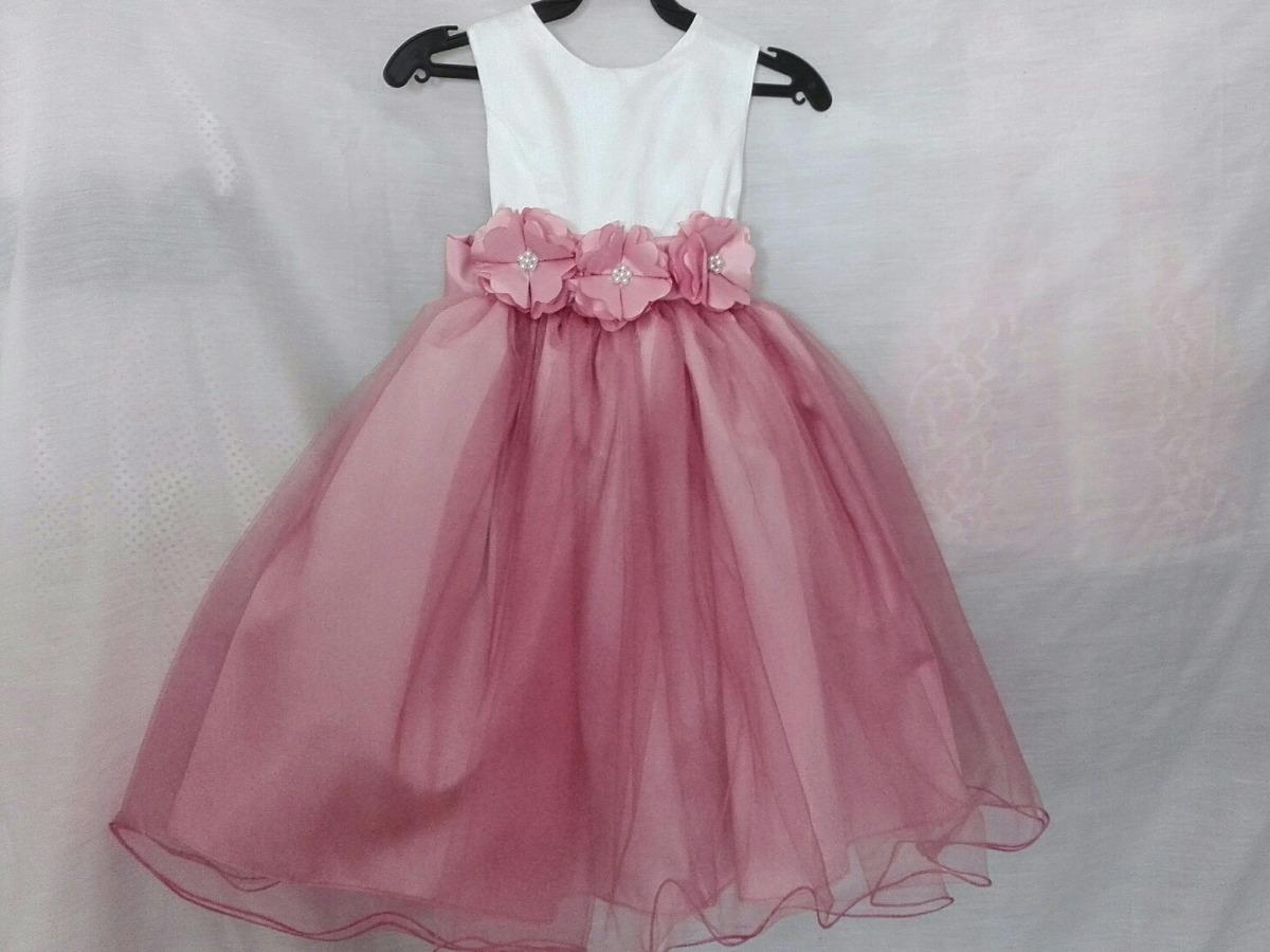 Vestidos de fiesta nina rosa