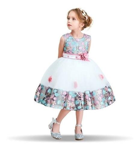 vestido de fiesta para niña elegante vestido fiesta de bebe