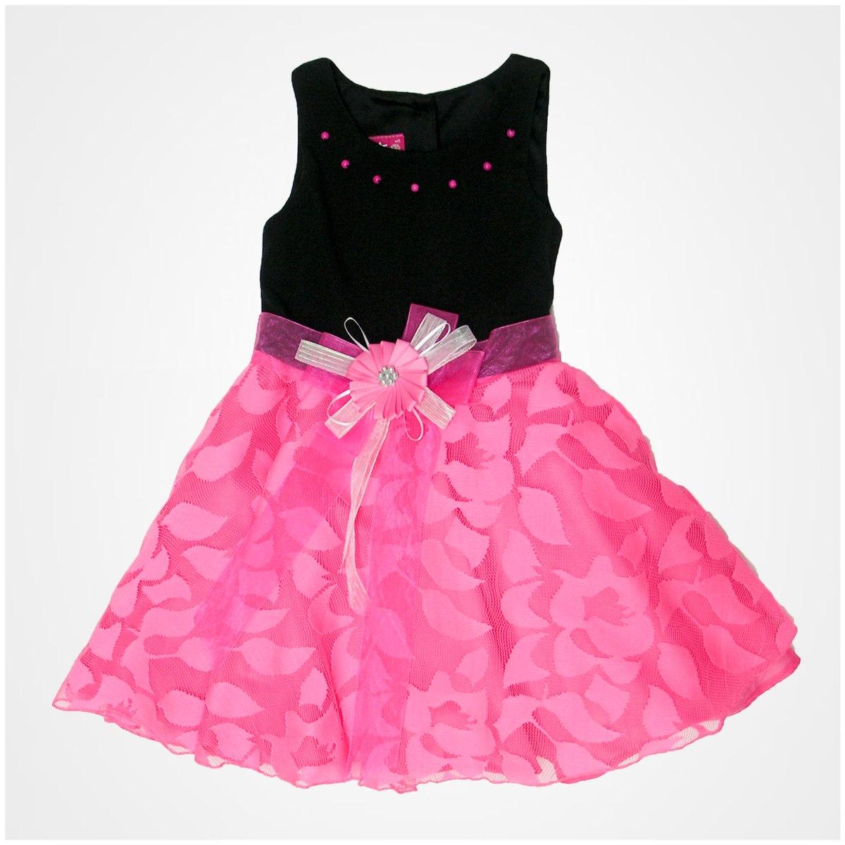 Vestido De Fiesta Para Niña Gerat Con Aplicaciones Y Tul - $ 989.00 ...