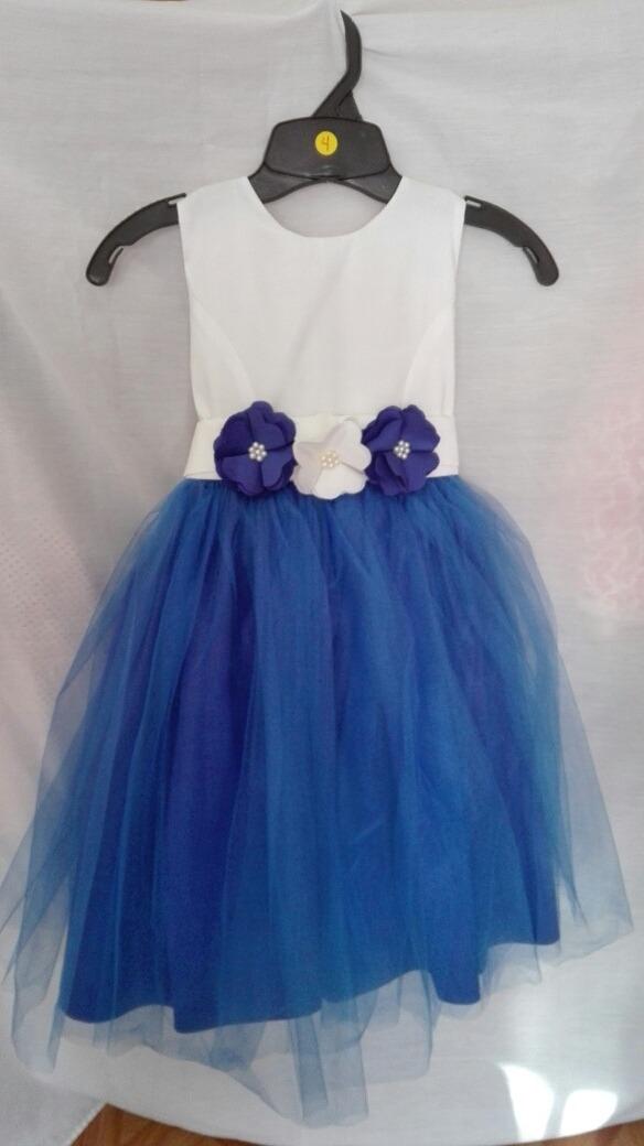 Vestidos de fiesta azul rey para ninas