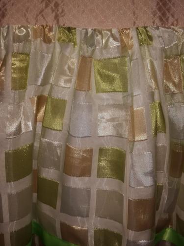 vestido de fiesta para niña talla 6 y 5