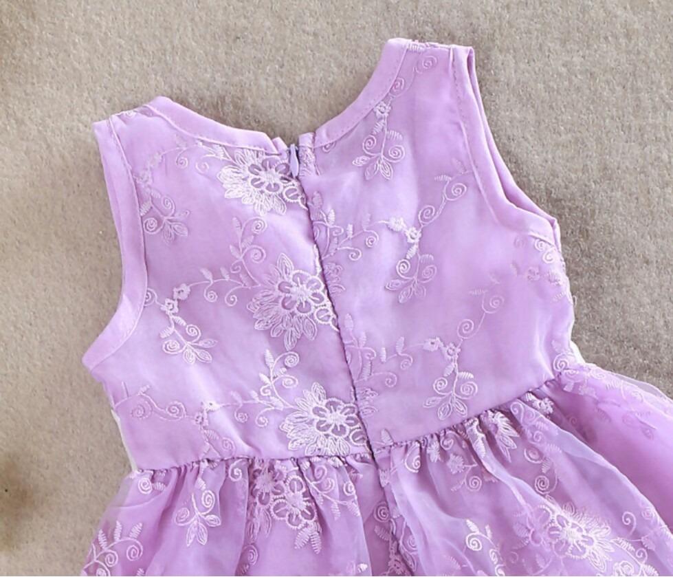 Vestido De Fiesta Para Niñas Hermoso Diseño Exclusivo !!!! - S/ 75 ...