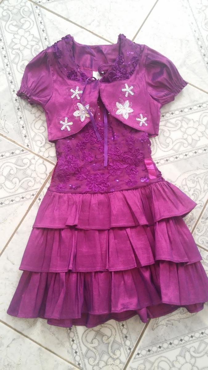 Vestido De Fiesta Para Niñas Talla 10 - Bs. 15.000.000,00 en Mercado ...