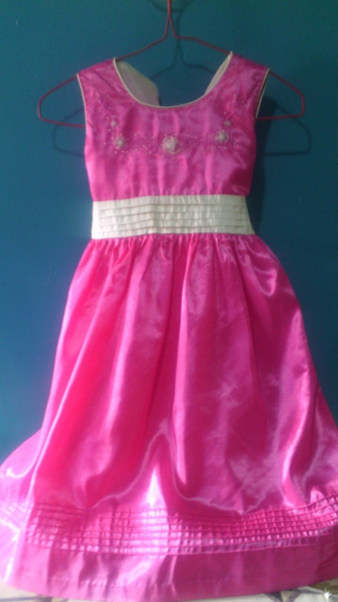 Vestido De Fiesta Para Niñas Talla 6 - Bs. 25.000,00 en Mercado Libre