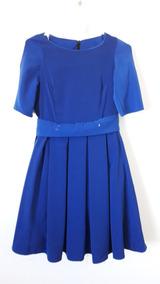 90b3a48b3 Vestido Pin Up Usado - Vestidos de Mujer Azul