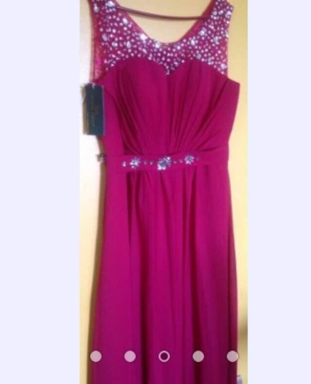 Vestido De Fiesta Rojo Italiano - $ 70.000 en Mercado Libre