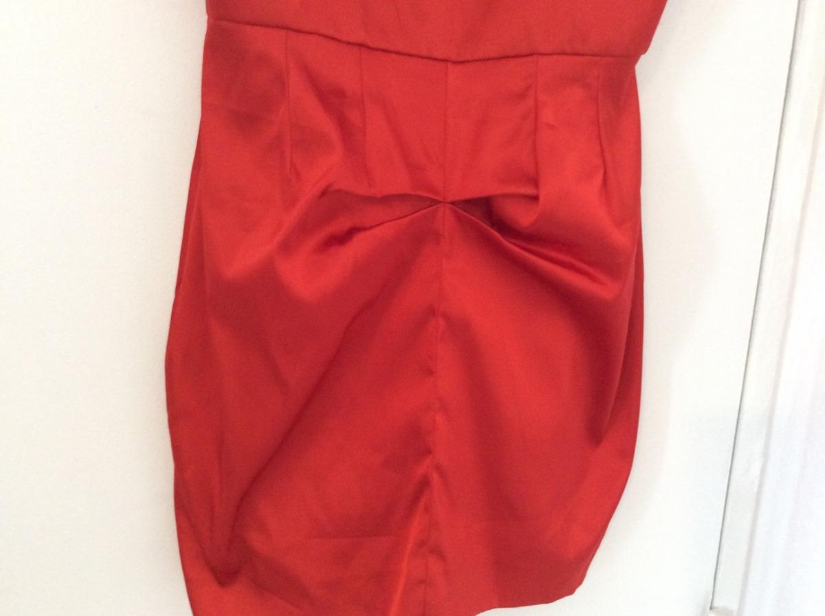 48a965453 vestido de fiesta rojo nuevo strapless maria vazquez s mujer. Cargando zoom.