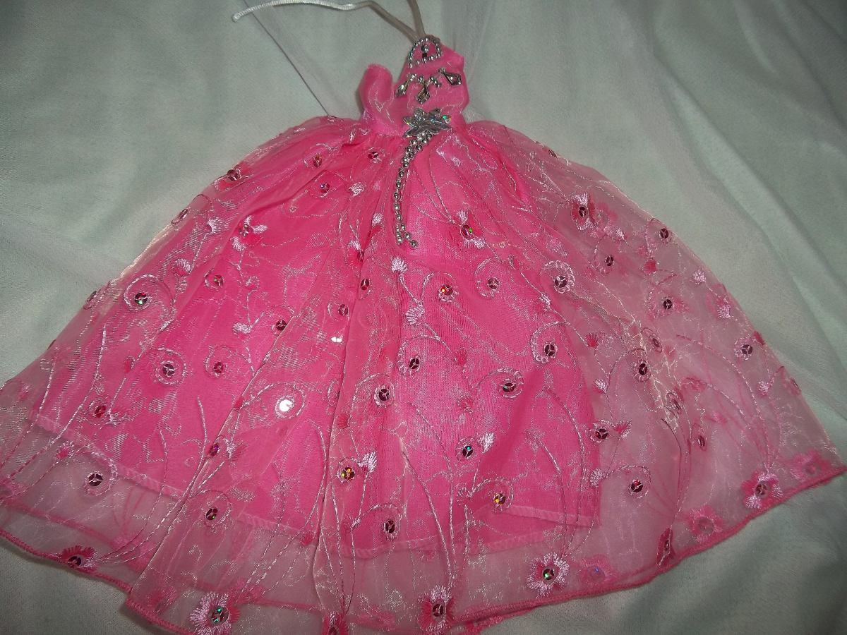 Vestido De Fiesta Ropa Para Barbie Muñeca Nuevo - $ 70,00 en Mercado ...