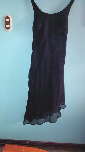 vestido de fiesta semi formal poco uso talla m