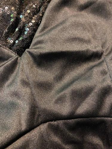 vestido de fiesta sexy en lentejuelas color negro 39