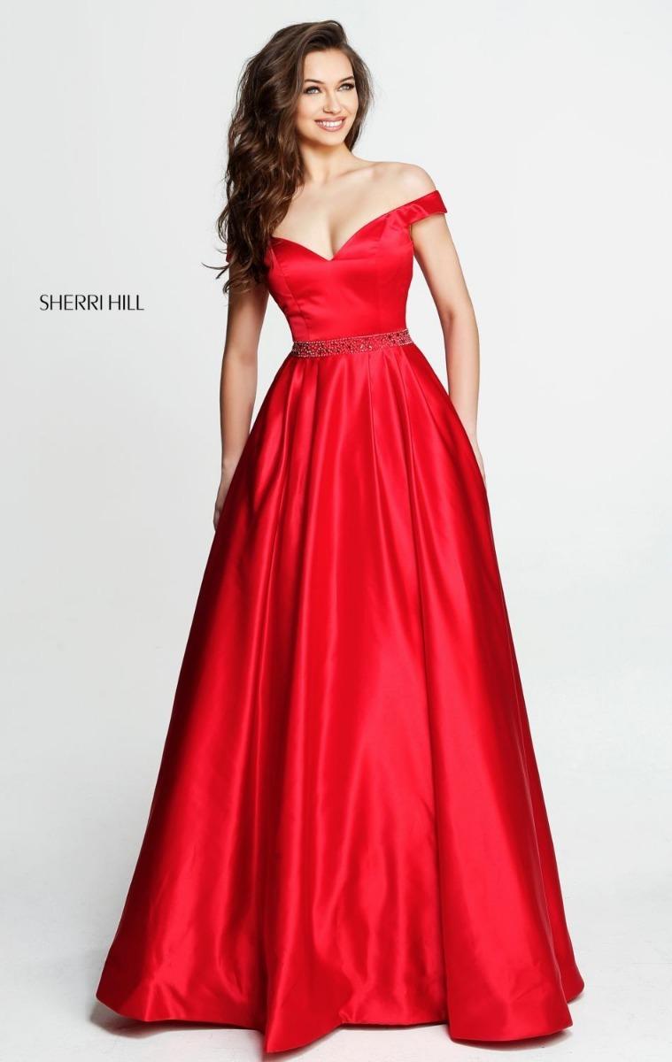 7c050bb592 vestido de fiesta sherri hill - nuevo - oferta. Cargando zoom.