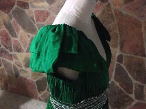 vestido de fiesta talla 16 como nuevo