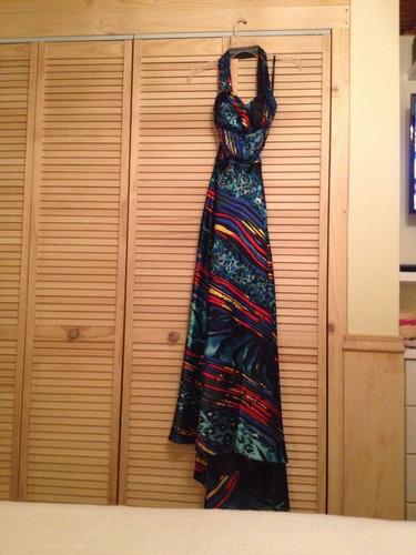 vestido de fiesta, talla m.