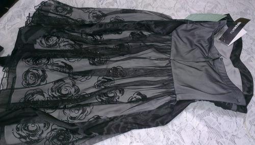 vestido de fiesta talla m   * e . r