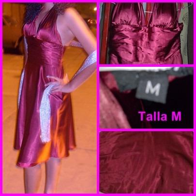 vestido de fiesta talla m usado