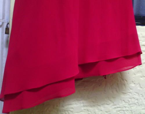 vestido de fiesta tipo coctel .( una sola postura)..