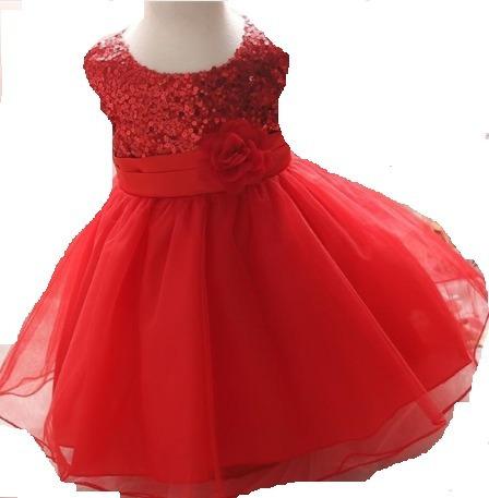 vestido de fiesta y bautizo de bebé niña 3 a 24 meses