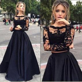 9b18e12f2 Vestido Falda Top Fiesta Noche - Vestidos de Mujer en Mercado Libre ...